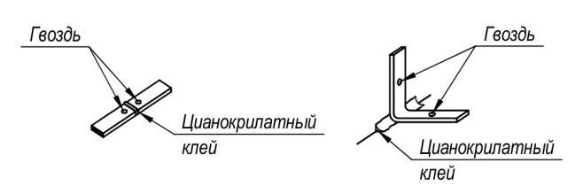 рис 5-6 Соединение профилей